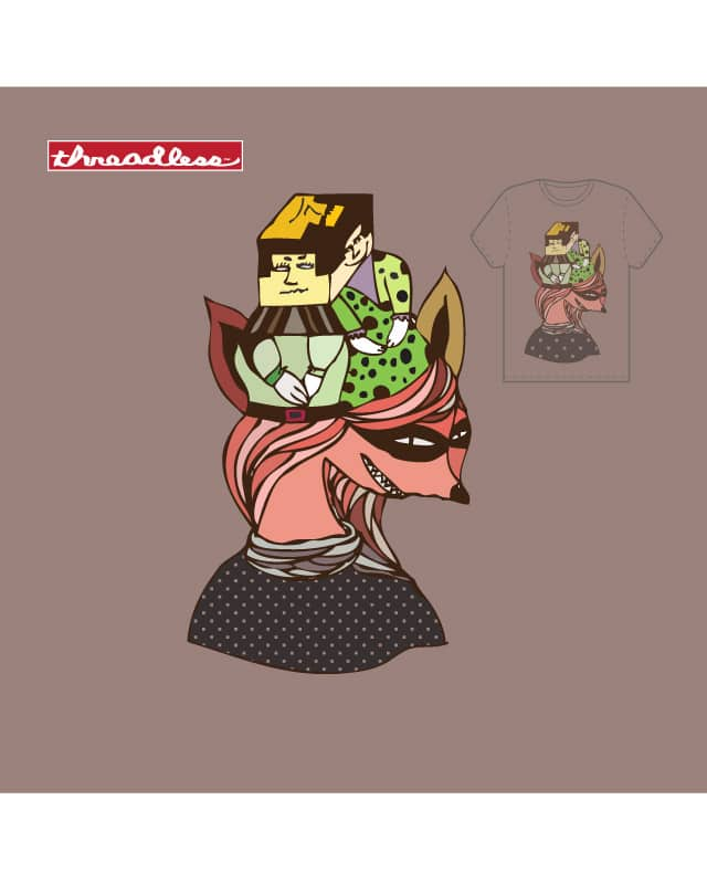 Princess Fox by EMILY LEE on Threadless