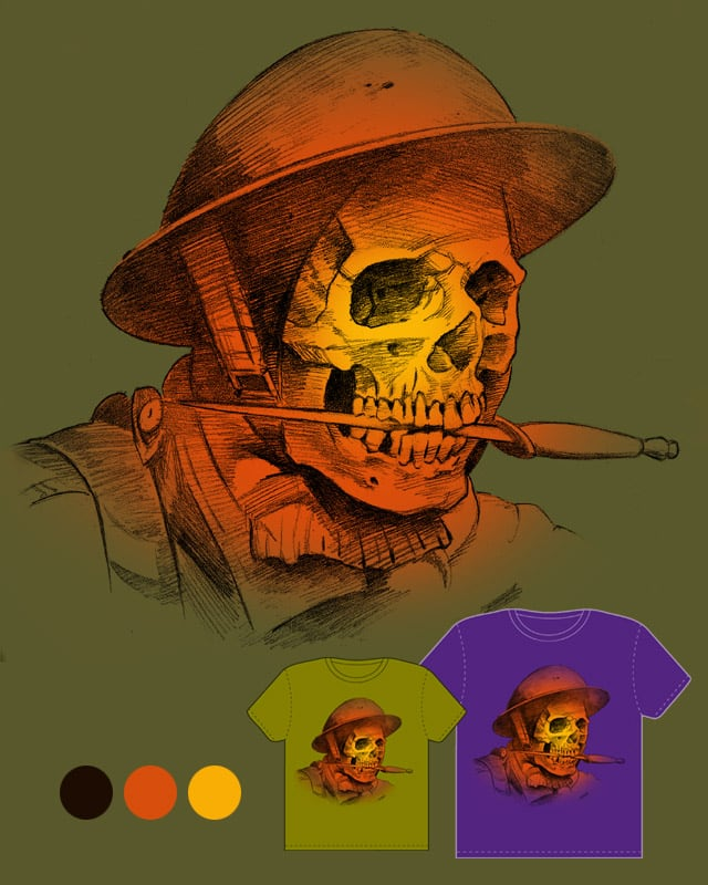 Skull and Dagger by droopbomb on Threadless