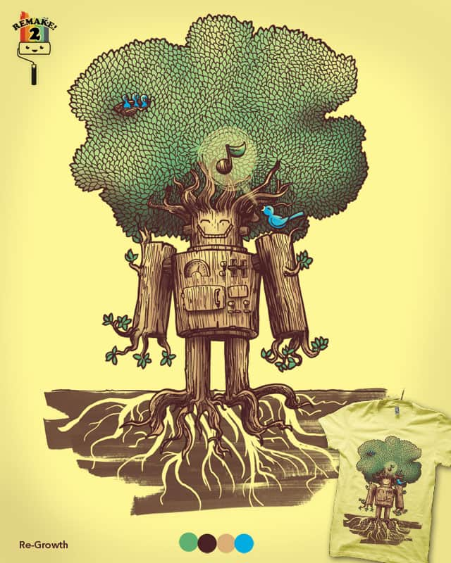 Re-Growth by nickv47 on Threadless