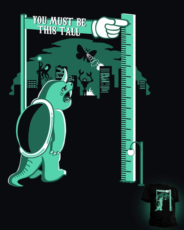 You Must Be This Tall by Graja on Threadless