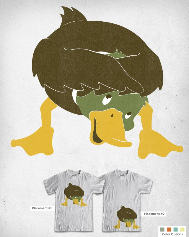 DUCK! by murraymullet on Threadless