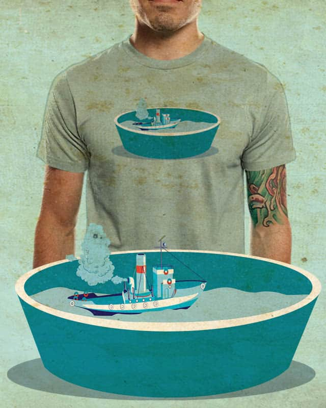 holidays in the buckets by edgarscratch on Threadless