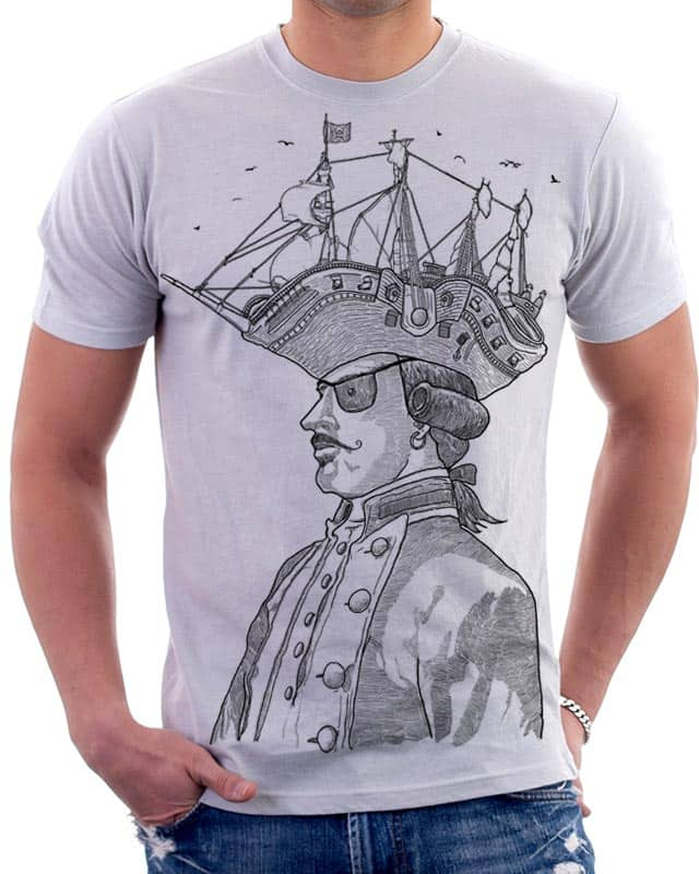 Pirate's head by BLXMAN77 on Threadless