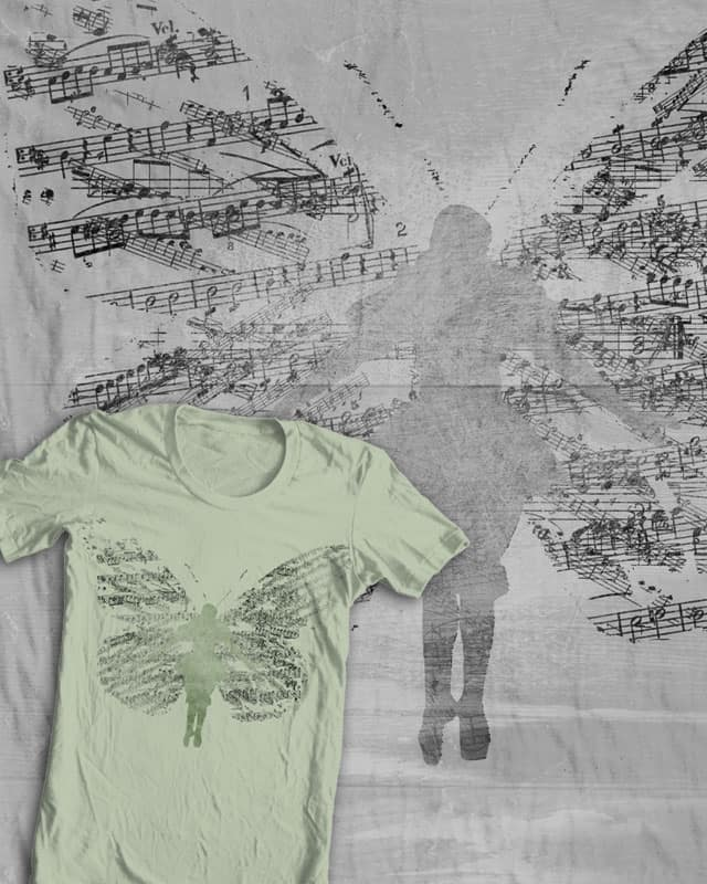 wings of melody by jerbing33 on Threadless