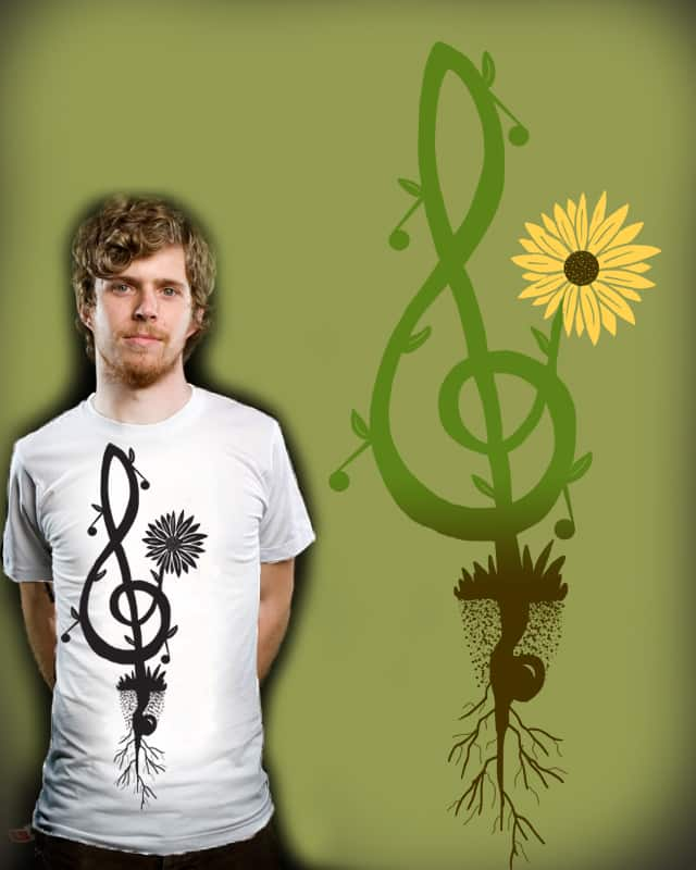Music in Bloom by nicholelillian on Threadless