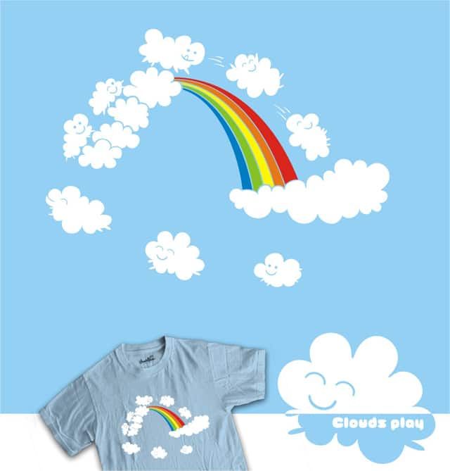 Clouds Play by adistupid on Threadless