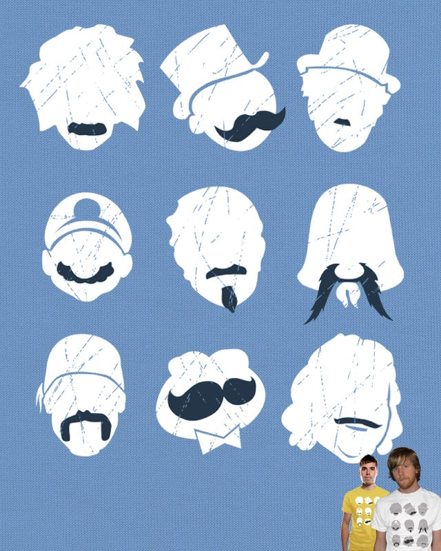 Famous Moustaches by Mosquito88 on Threadless