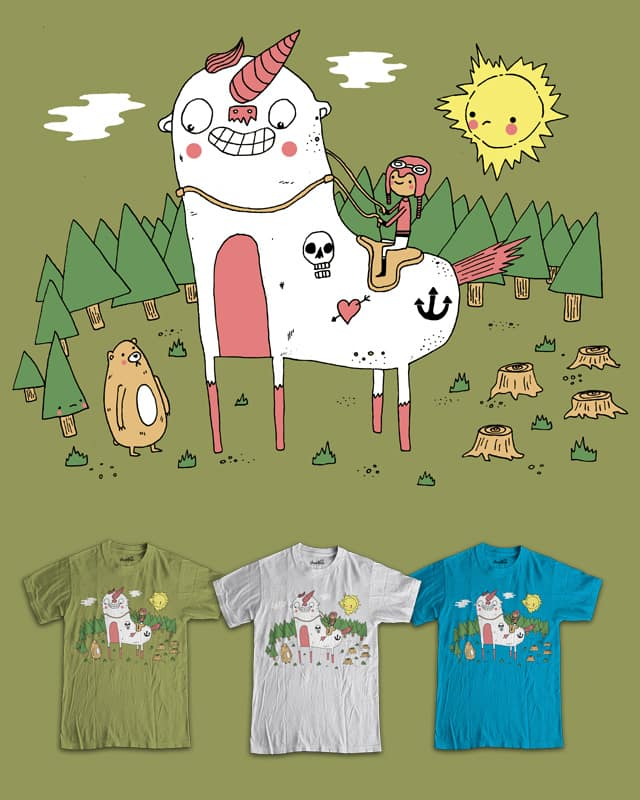Unicorny by randyotter3000 on Threadless