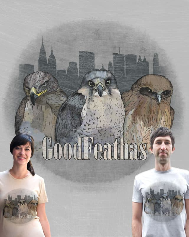 Goodfeathas by quick-brown-fox on Threadless