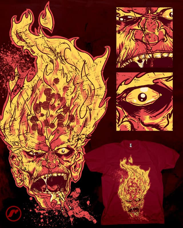 Hot HEad by RazCity on Threadless