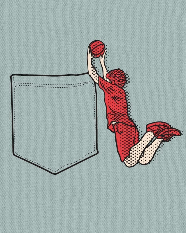 Pocketdunk by 51brano on Threadless