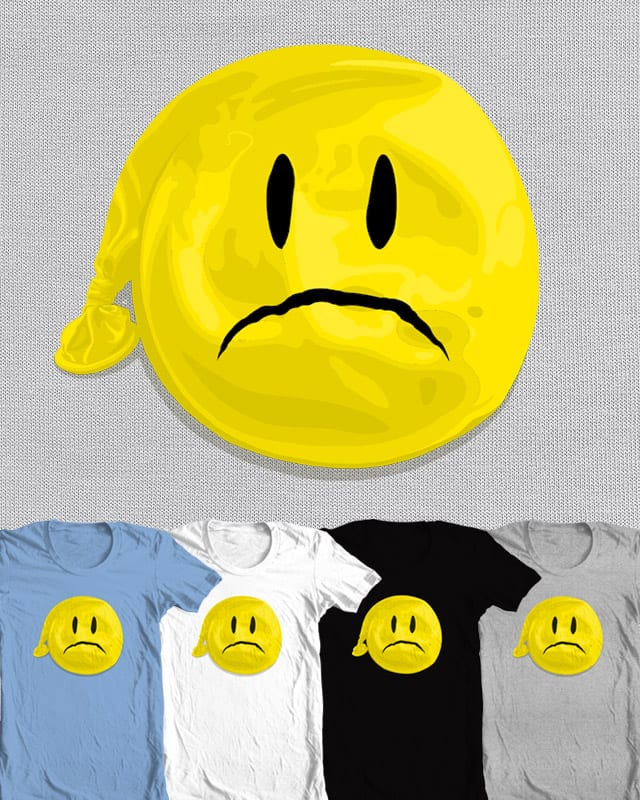deflated by Andreas Mohacsy on Threadless