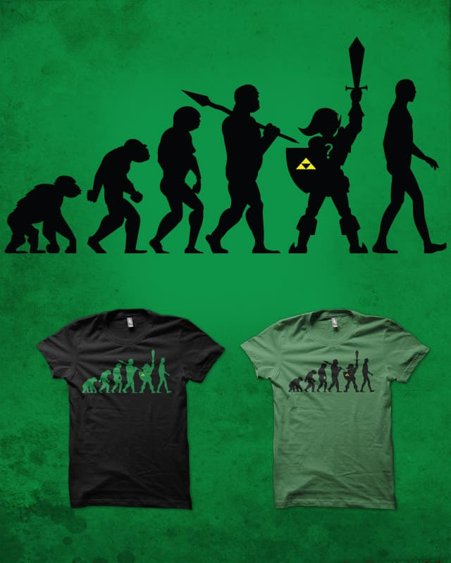 The missing link by biotwist on Threadless