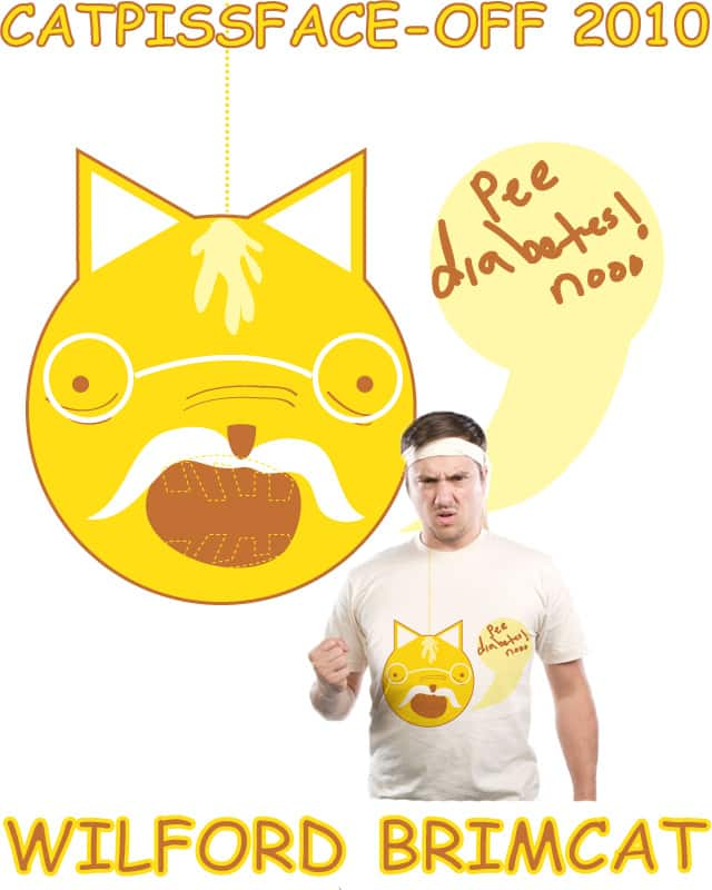 WILFORD BRIMCAT PEEBETES by Ryder on Threadless