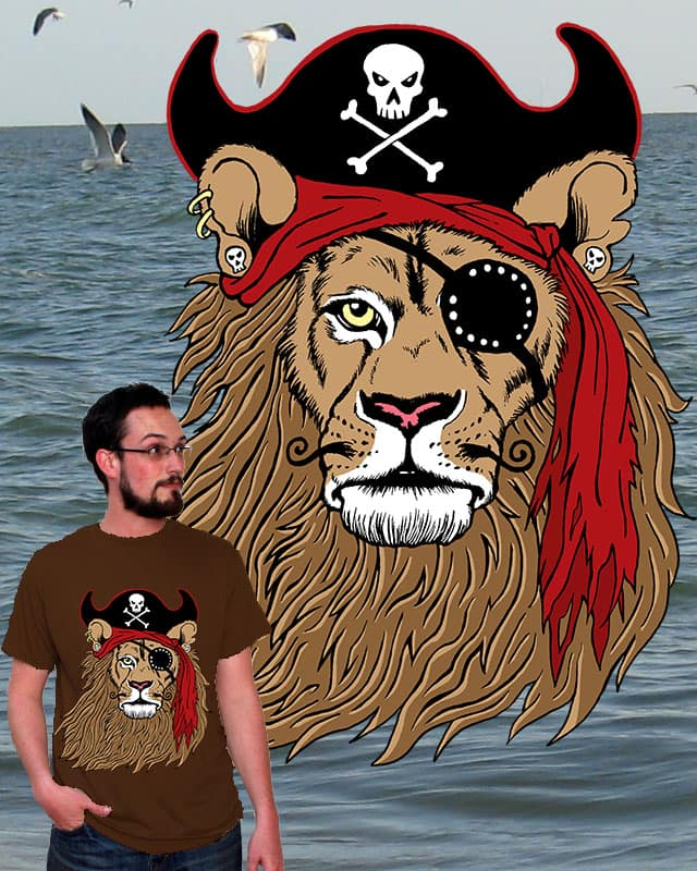 The Pirate King by RobynsWolvesOfNight on Threadless