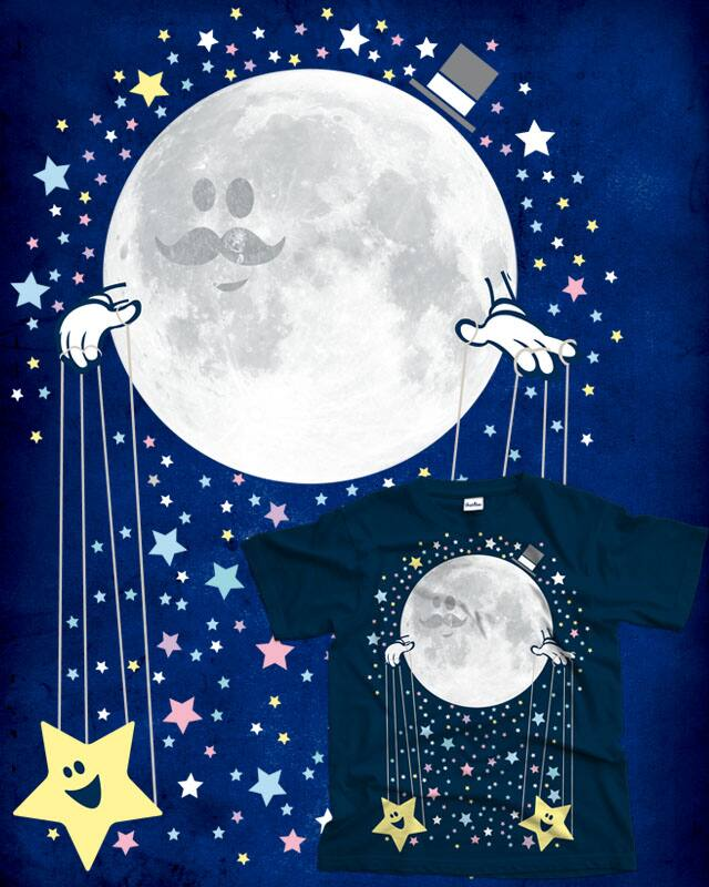 Moon Puppeteer by Red Rafael on Threadless