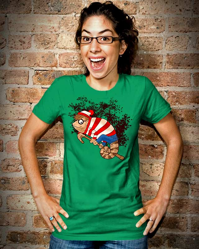 There He Is! by kooky love on Threadless