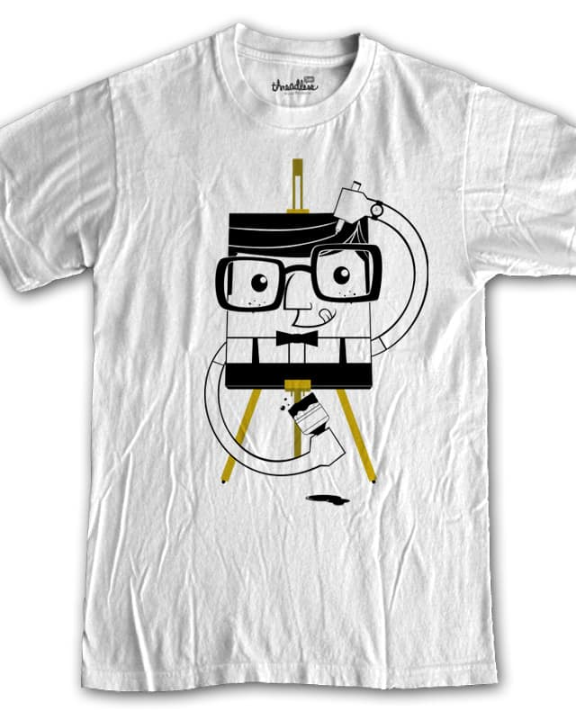 Self-Potrait by cmartz on Threadless