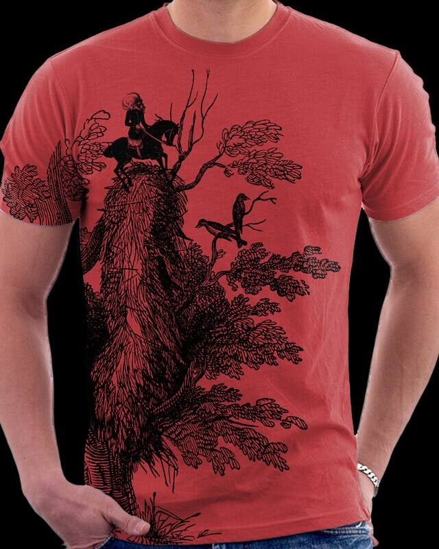 Red Sky Rider by Oiseau83 on Threadless