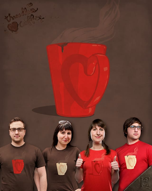 I heart coffee by rodrigobhz on Threadless