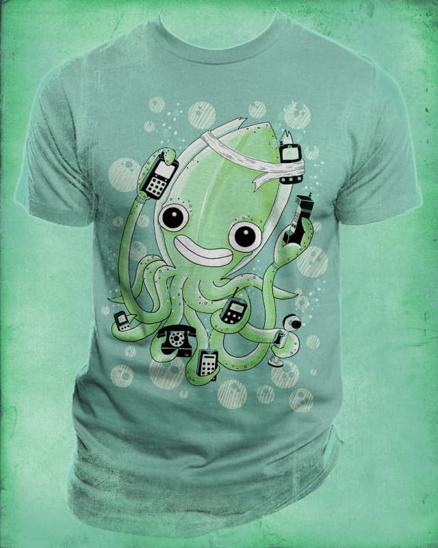 Squid rings by randyotter3000 on Threadless