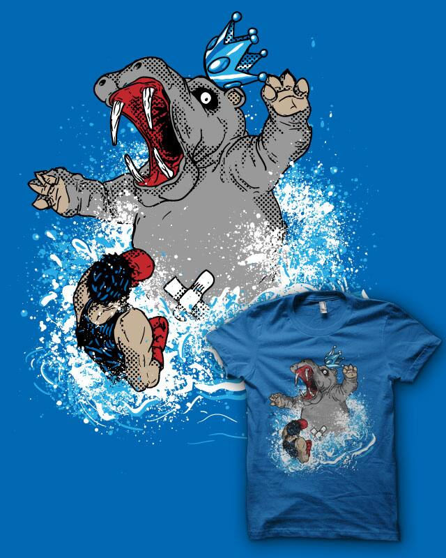 wrong hippo by biotwist on Threadless