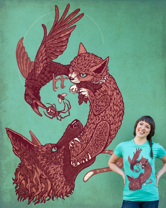 ...keep your enemies closer by blue sparrow on Threadless