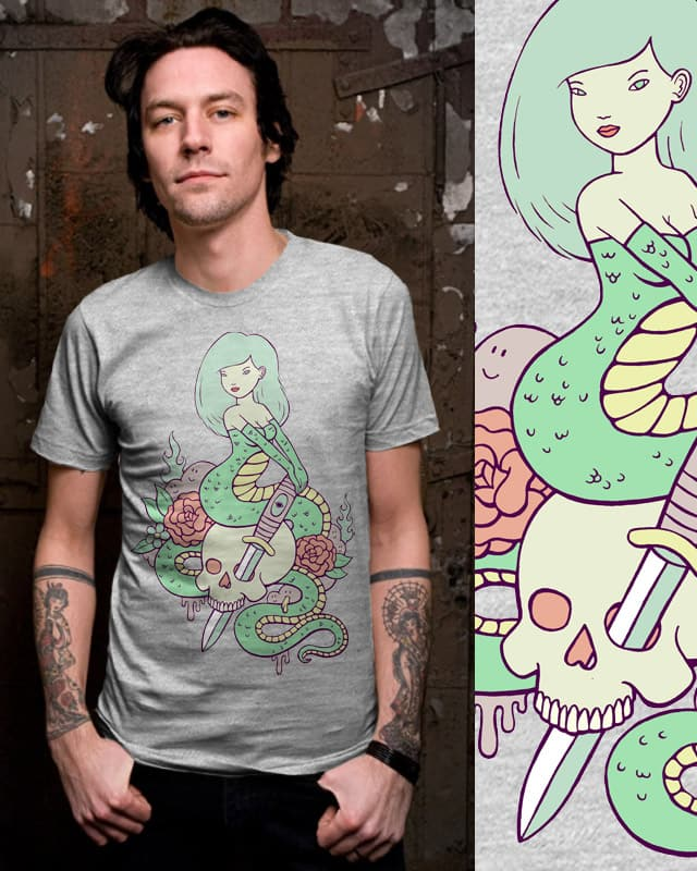 snake girl by sweet n sour on Threadless