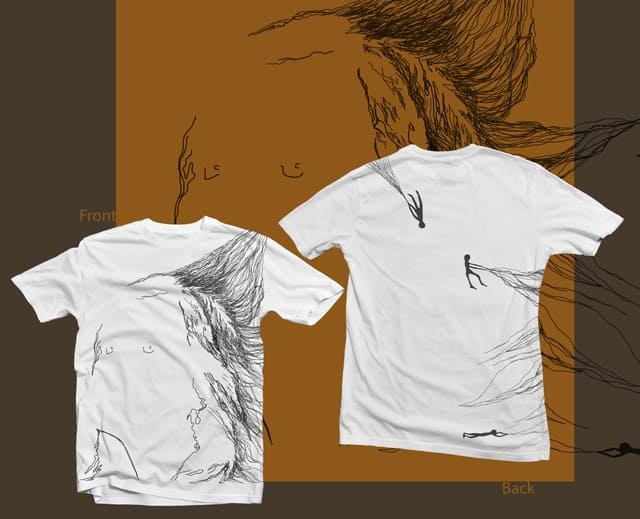 Blowing in the wind by J_Kiss on Threadless