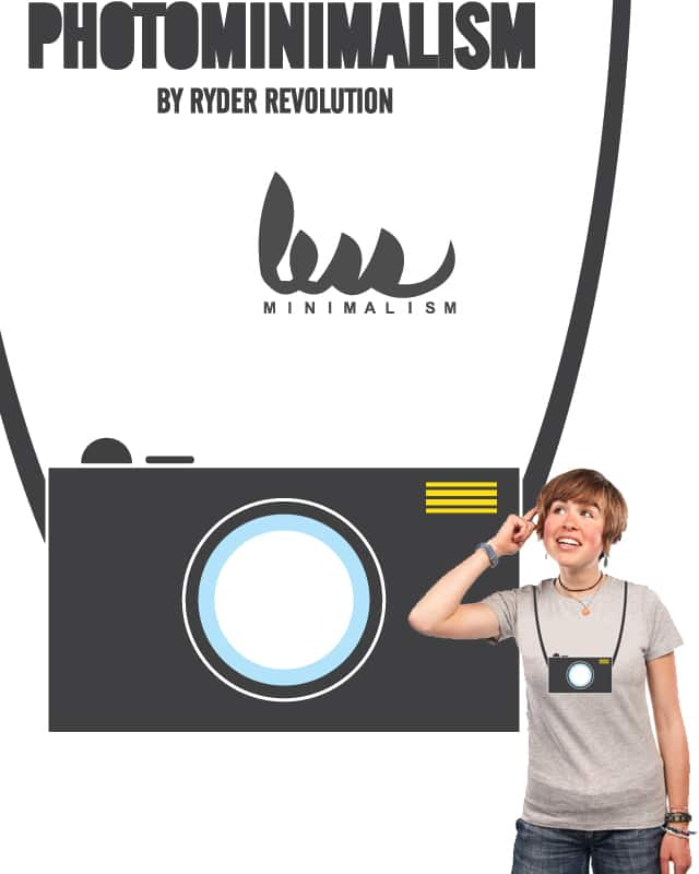 PhotoMinimalism by Ryder on Threadless