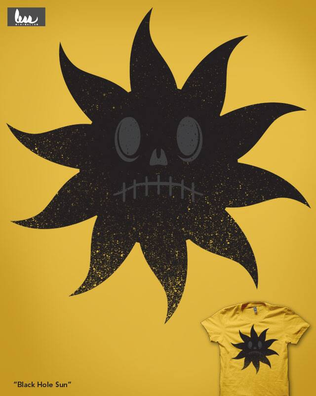 Black Hole Sun by nickv47 on Threadless