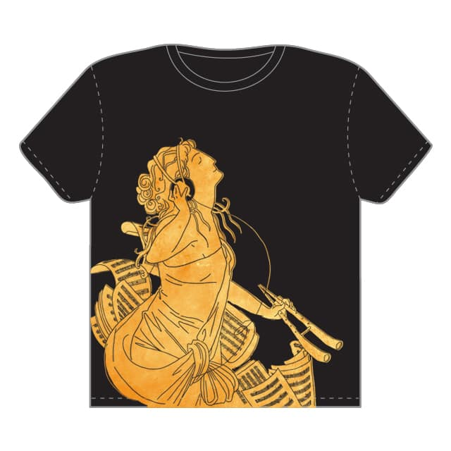 Euterpe: Muse of Music by Goat_Hoofie on Threadless