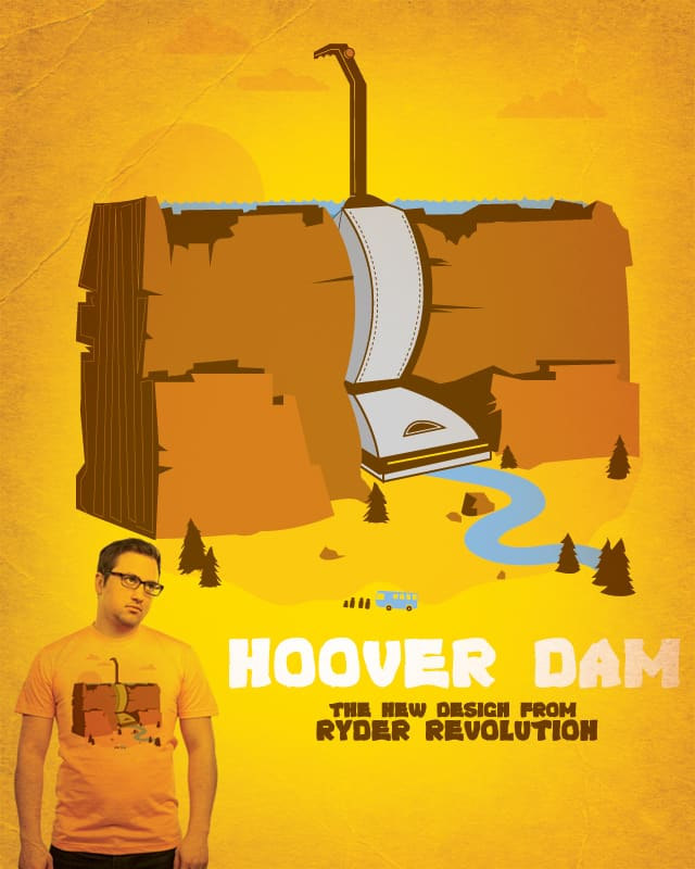 HOOVER DAM by Ryder on Threadless