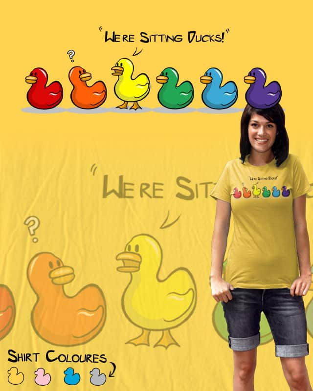 Sitting Ducks by Wild-Hearts on Threadless