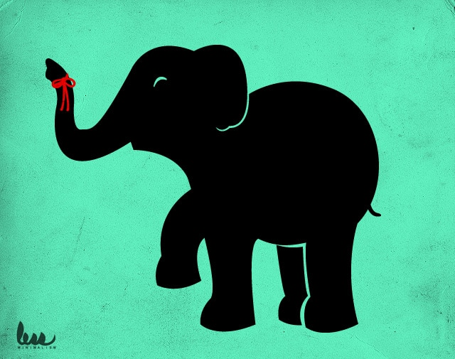 Elephants never forget by alexmdc on Threadless
