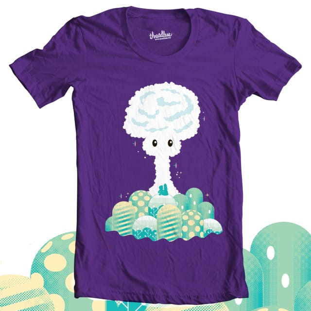 Super Mushroom Cloud by Monkey X on Threadless