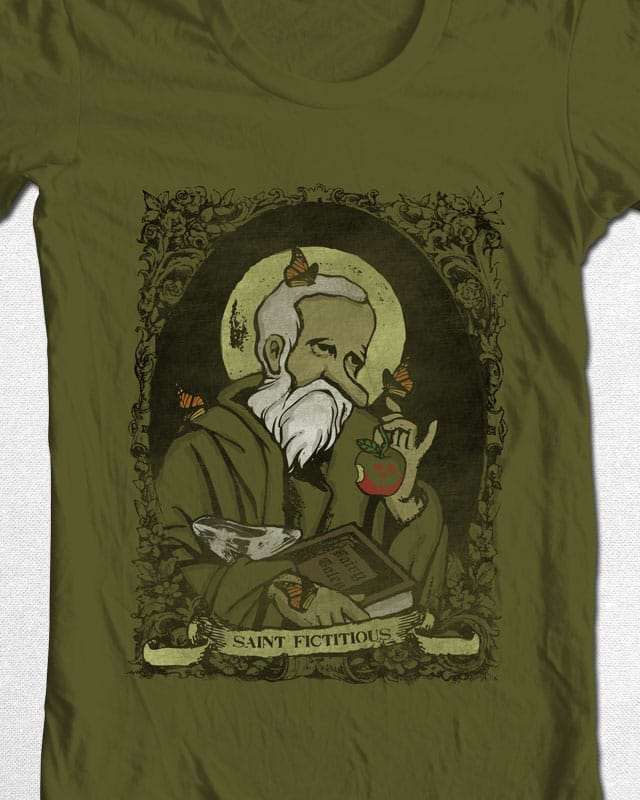 Saint Fictitous by jerbing33 on Threadless