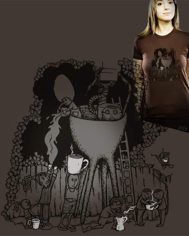 Coffee Town by zicr on Threadless
