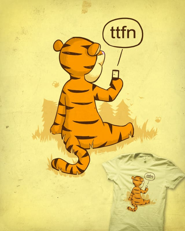 Ta Ta For Now by the Sleeping Sky on Threadless