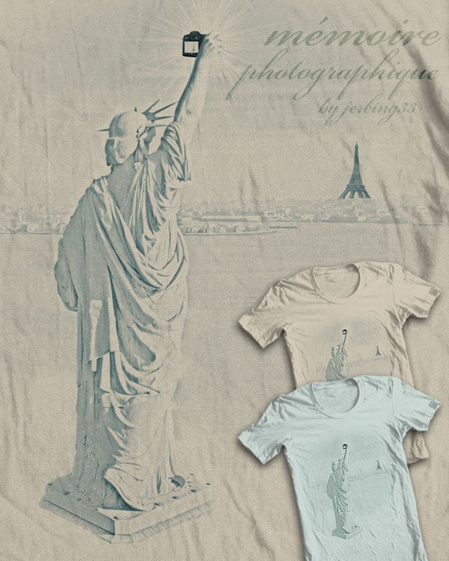 mémoire photographique by jerbing33 on Threadless