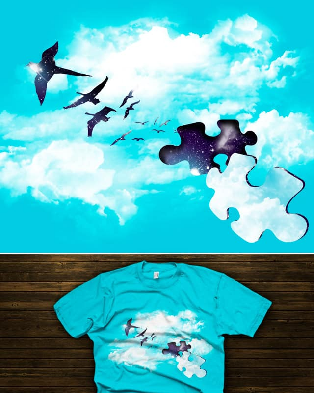Sky is Fallin' by tobiasfonseca on Threadless