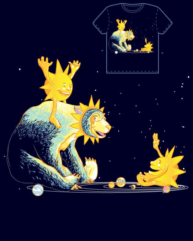 Sun Bear by wullagaru on Threadless