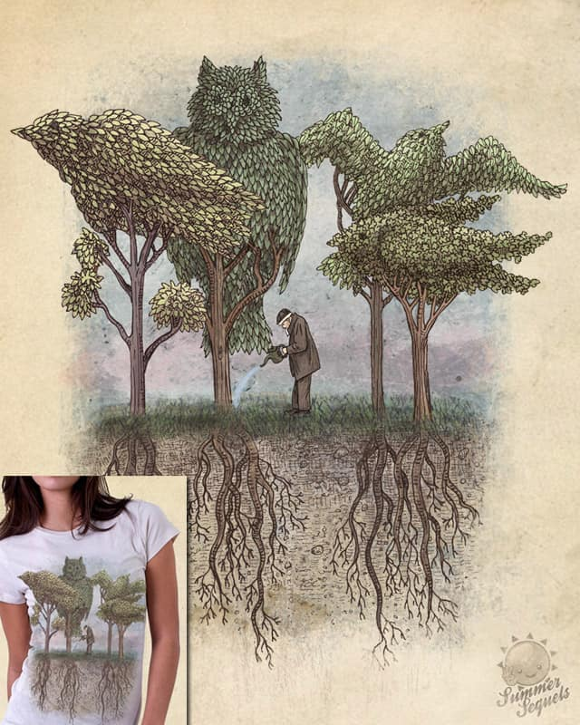 The Bird Gardener by igo2cairo on Threadless