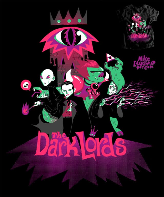 The Dark Lords by Mike Laughead on Threadless
