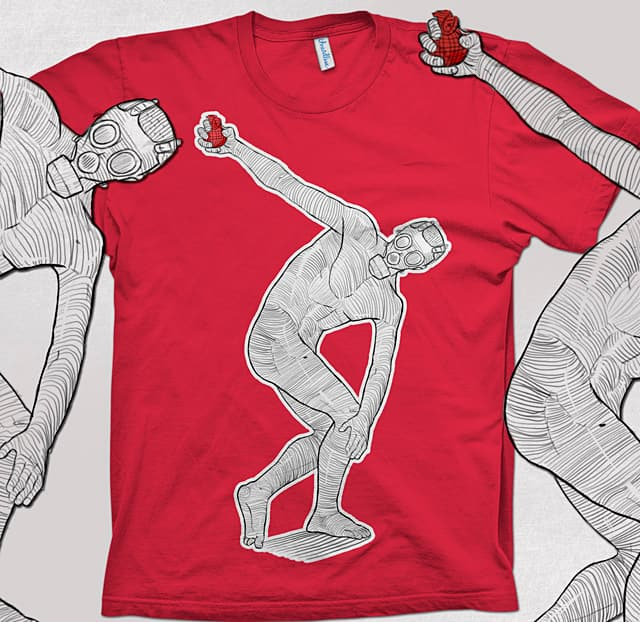 Discus thrower by Kraljubre on Threadless