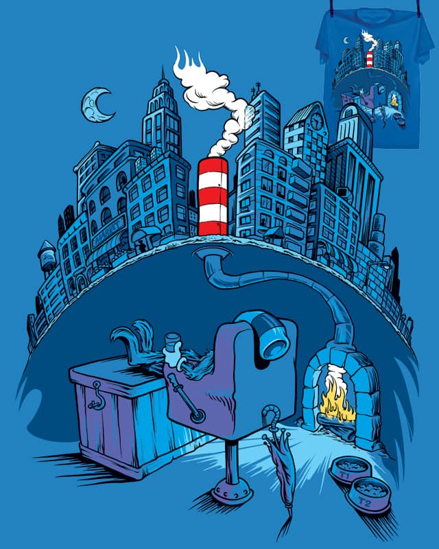 The Cat in the Underground Flat by WaitAMinuteChester on Threadless