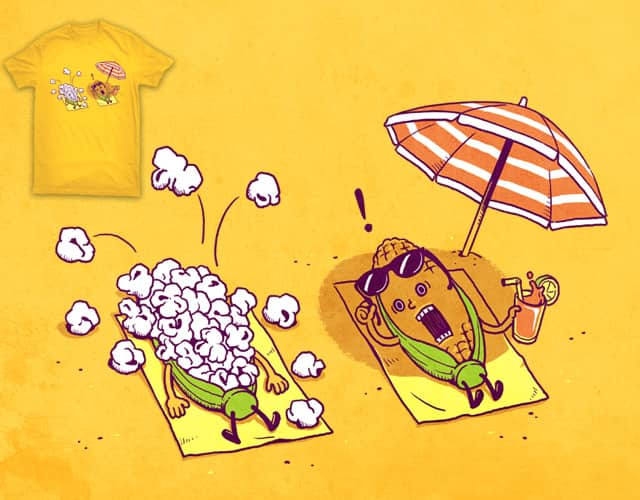 maize sunbathing by ben chen on Threadless