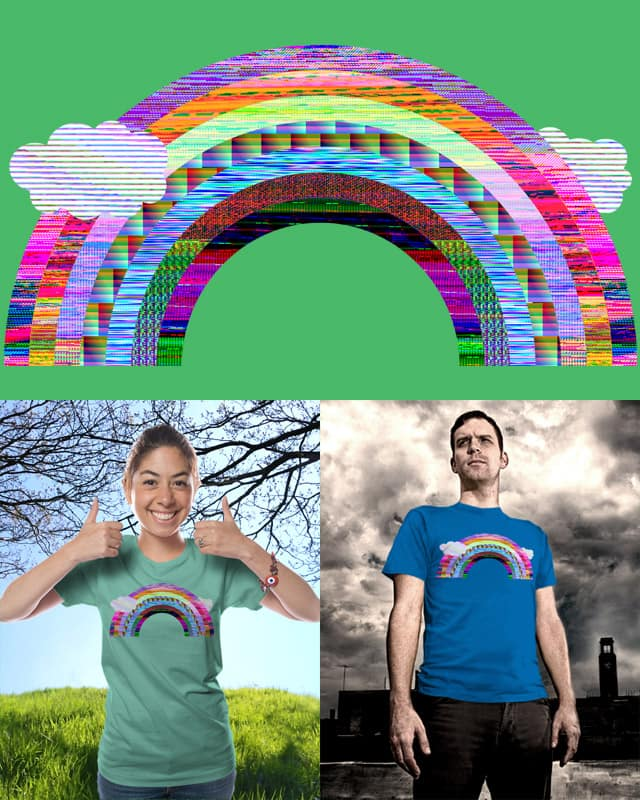 glitchbow by stalliongsta on Threadless
