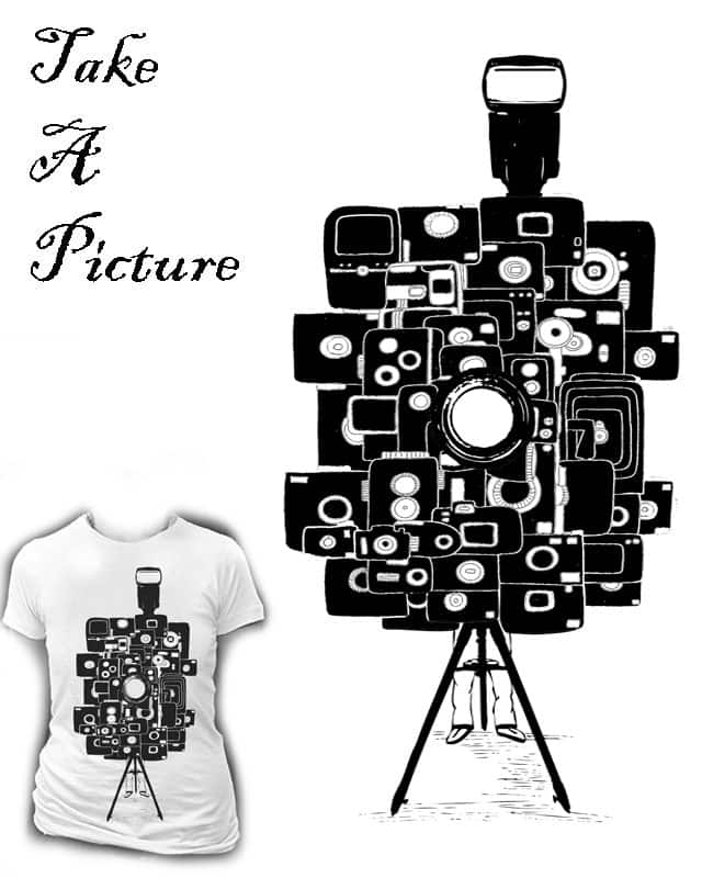 Take A Picture by ArTrOcItY on Threadless