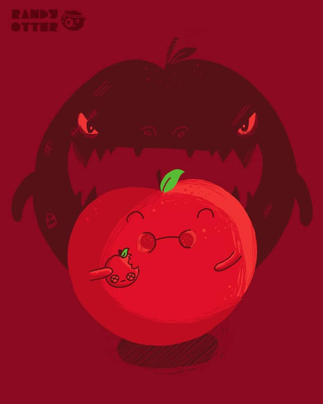 Nom unto others as you would have them nom unto yo by randyotter3000 on Threadless